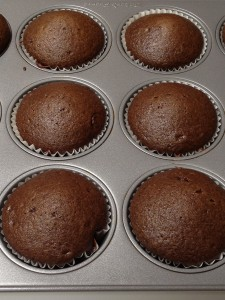 Chocolate Cupcakes baked